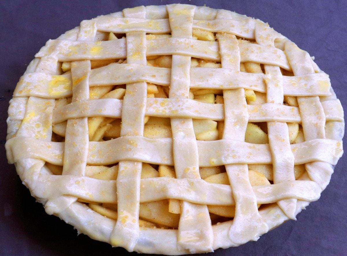 Pie Crust with Lattice