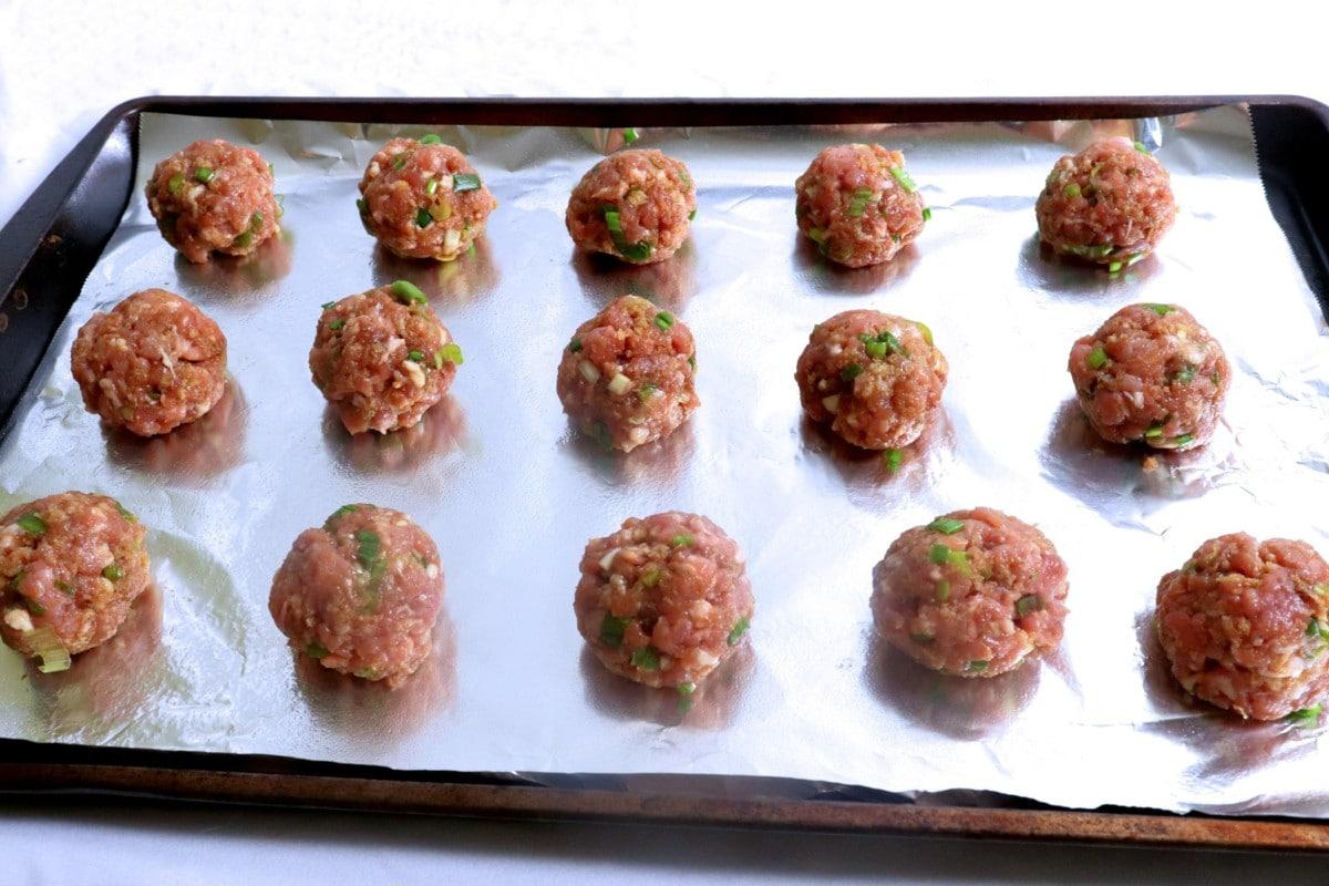 Pre-baked Meatballs