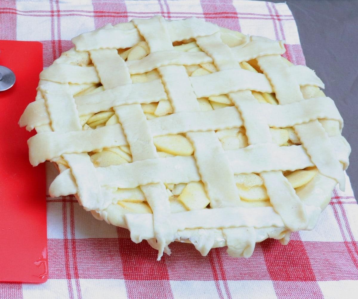 Pie Crust Lattice