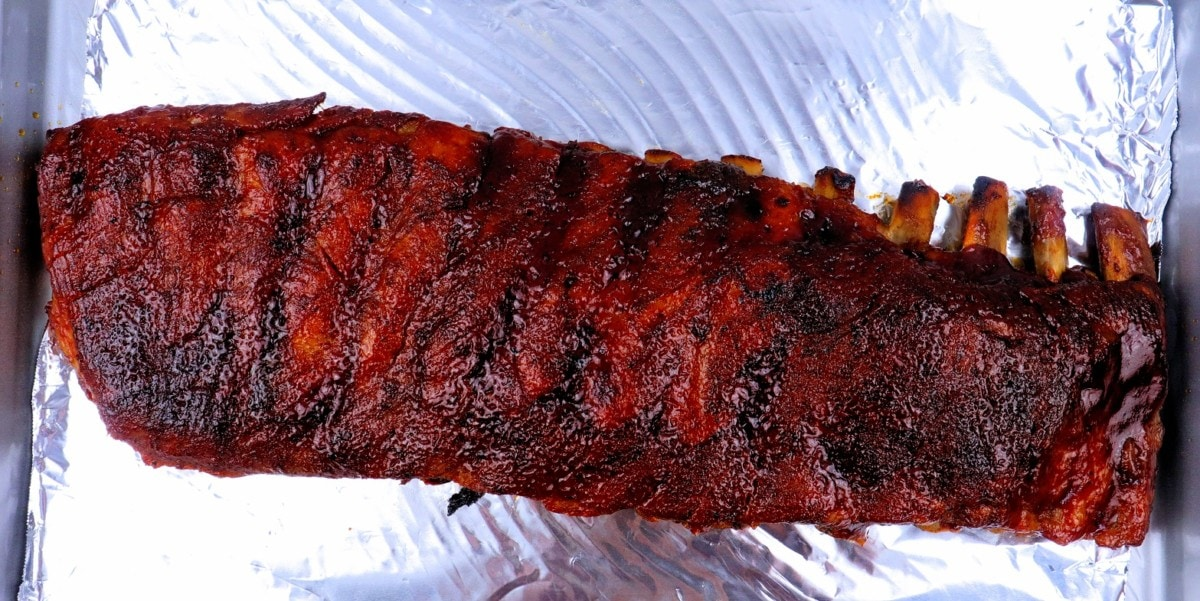 St. Louis Style Spare Ribs Baked Full Rack
