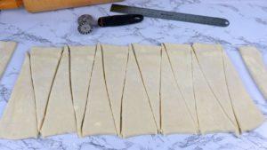 How to Cut Croissant Dough