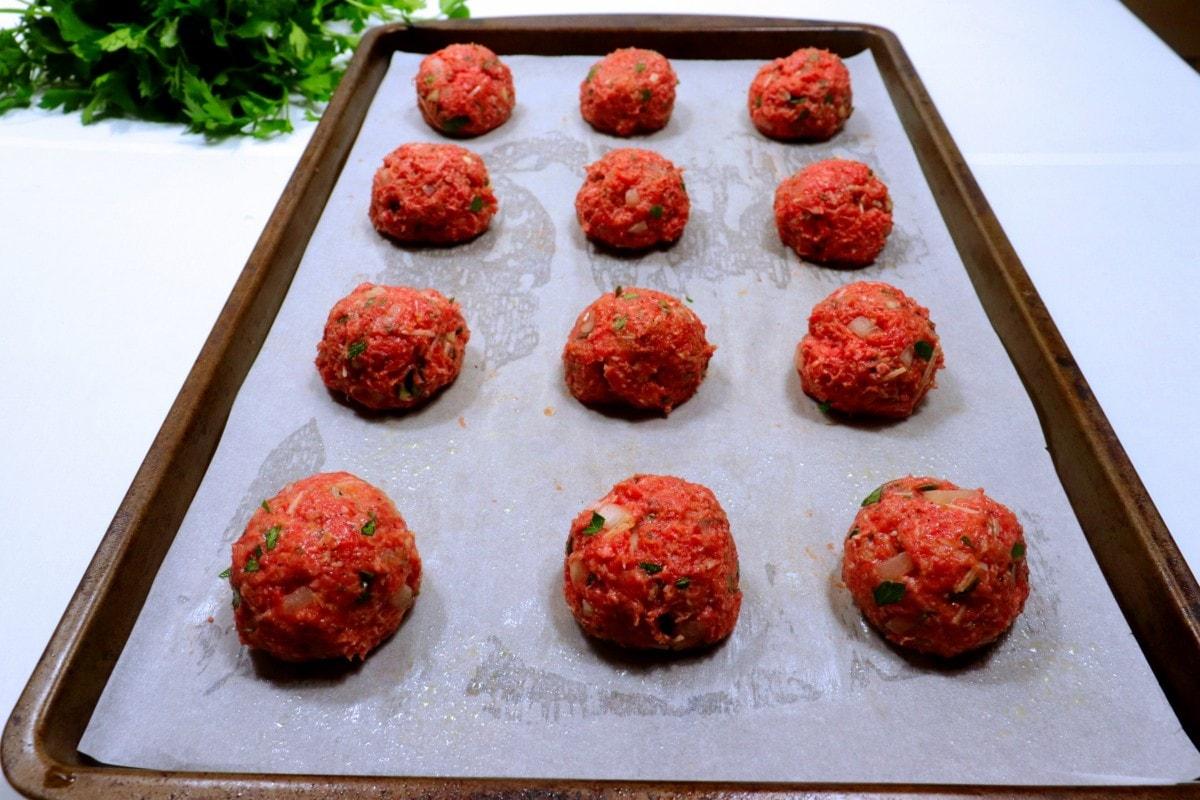 How to Shape Meatballs