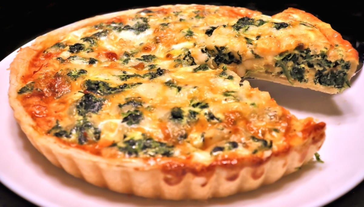 Spinach Quiche Quiche Florentine Meals By Molly
