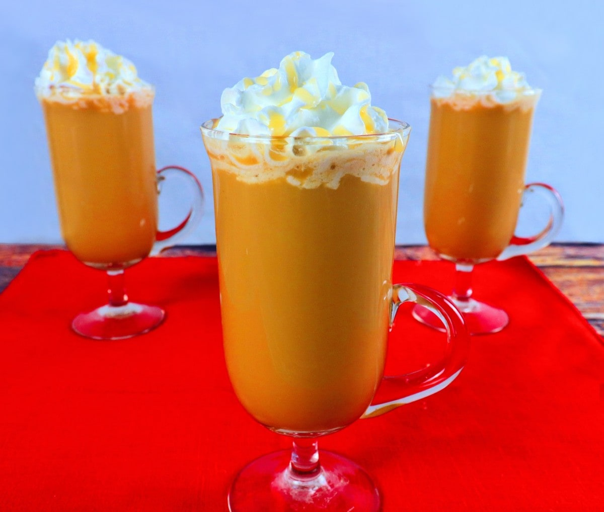 Homemade Caramel Latte