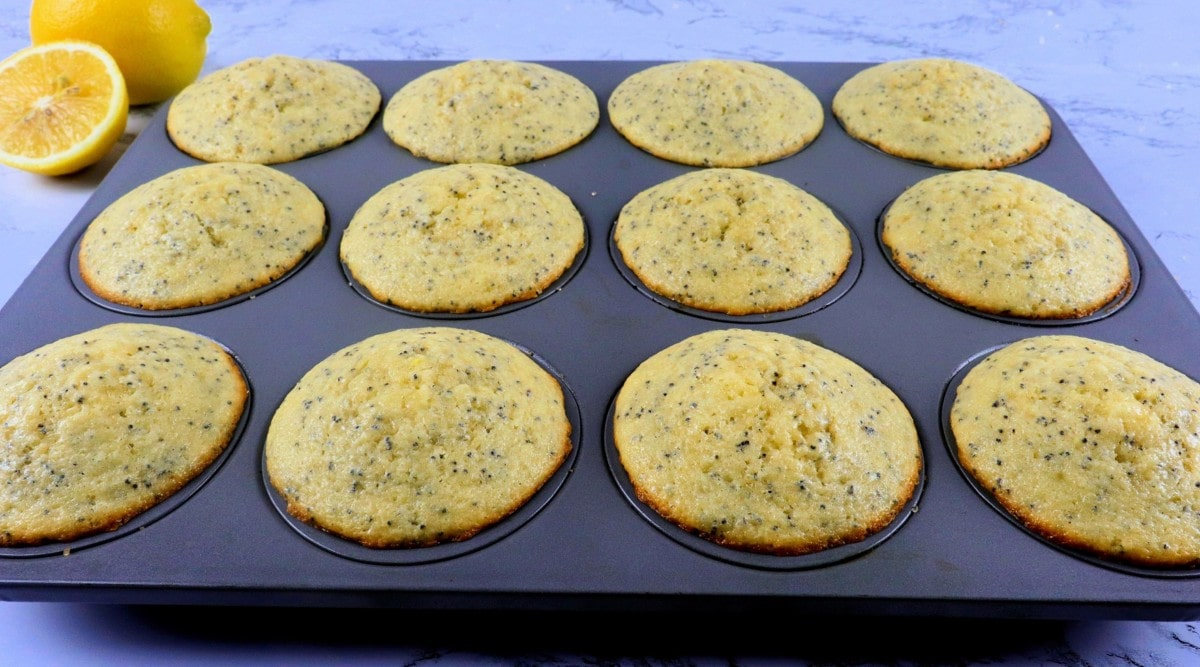 Baked Muffins in Pan