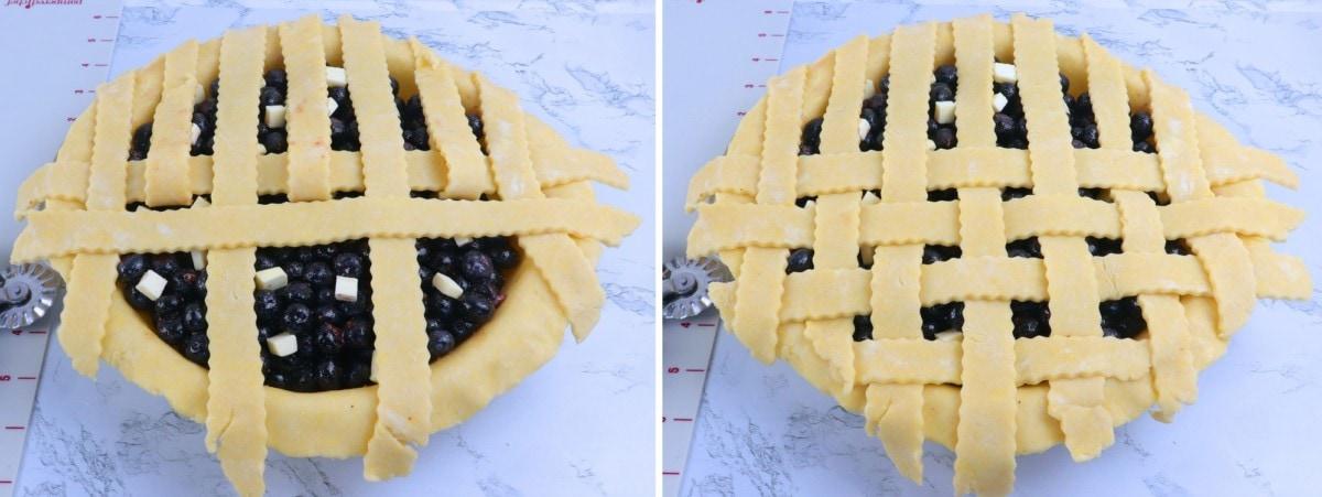 How to Lattice Pie Crust