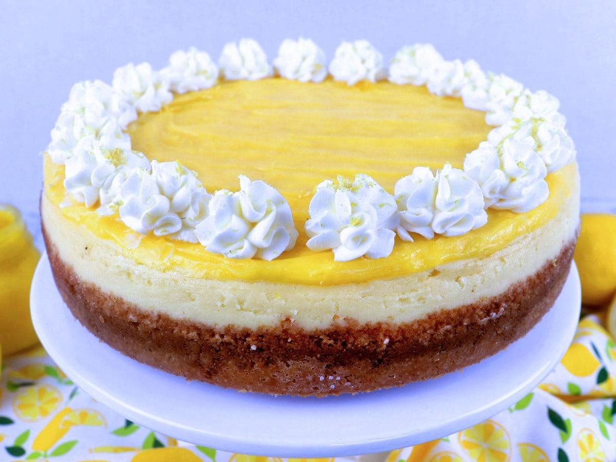 Lemon Cheesecake Full