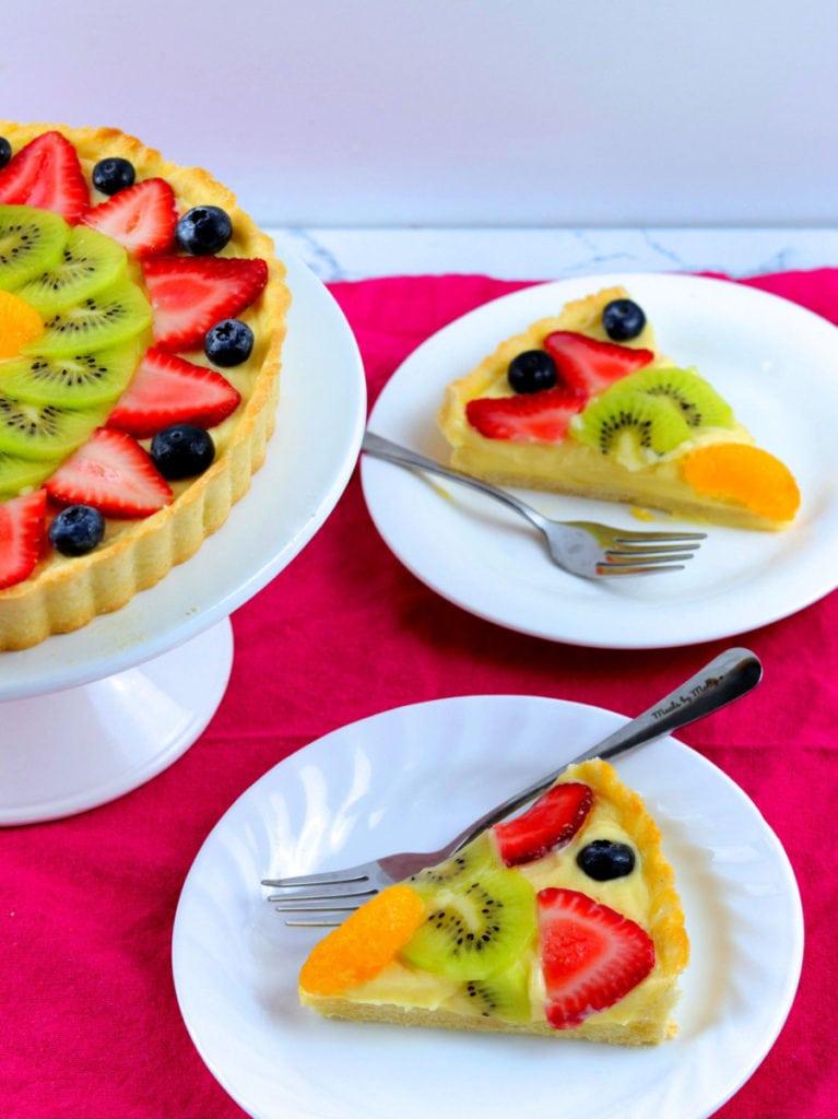 Sliced Fruit Tart