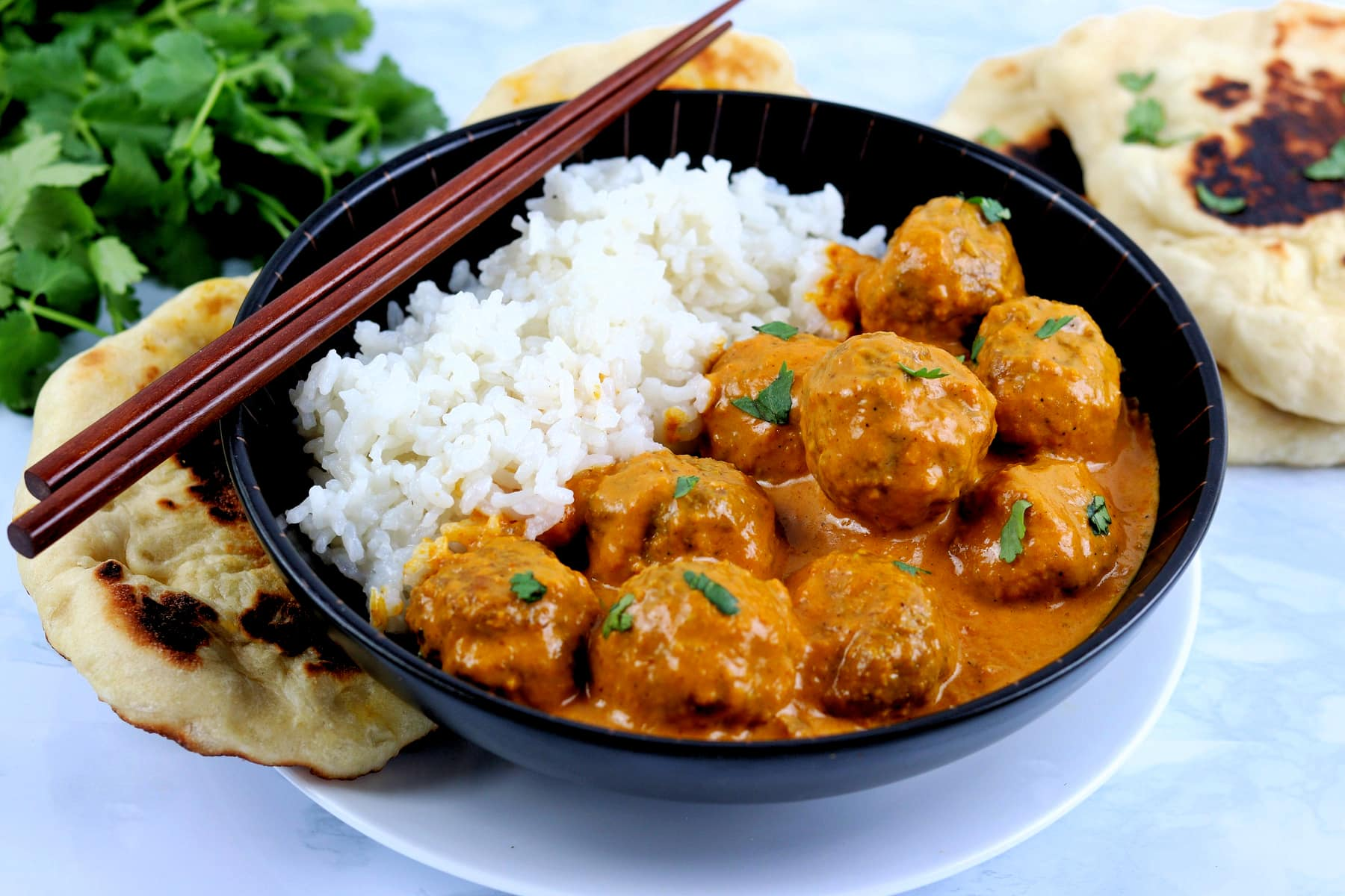 Indian Curry Meatballs (Kofta Curry)
