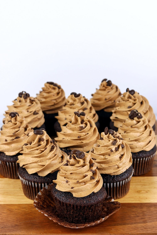 Chocolate Espresso Cupcake