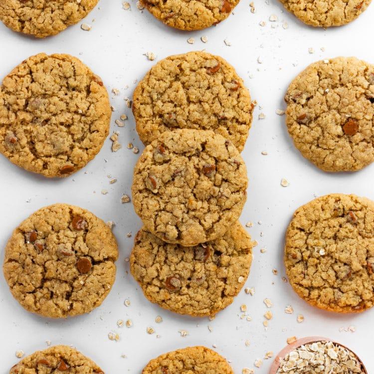 Almond Flour Oatmeal Cookies